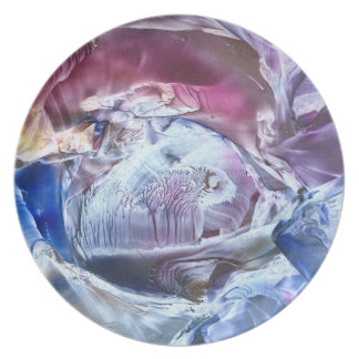 'Time passage from a distant dream' plate