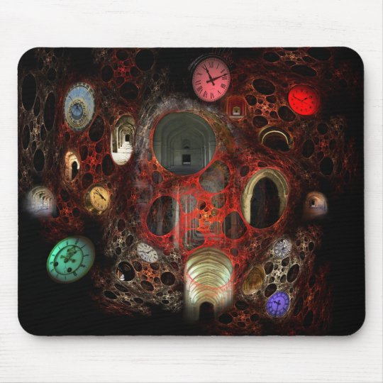 Time Passages in Colour Mouse Pad