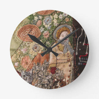 Time Passages Round Clock