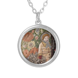 Time Passages Silver Plated Necklace
