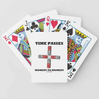 Time Passes Moment To Moment (Magnetic Quadrupole) Poker Deck