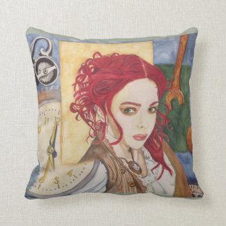 Time Pirate Throw Pillow