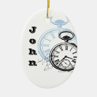 Time Pocket Watch Christmas Ornament