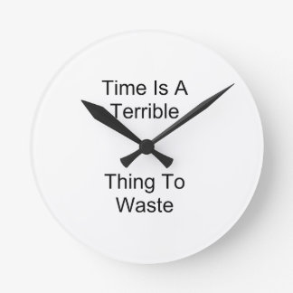 Time Round Clock