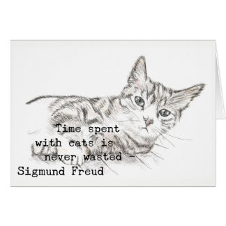 Time Spent with Cats . . . Card