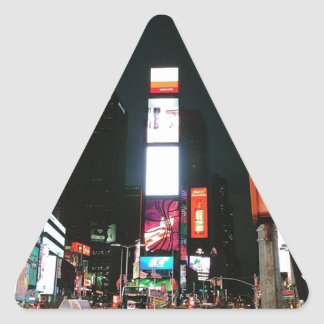 Time Square, NYC Triangle Sticker