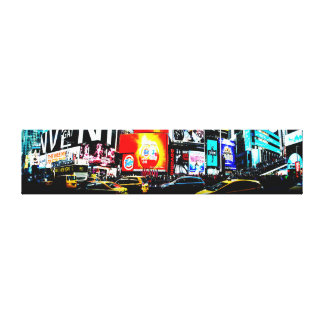 Time Square Panorama Canvas Print