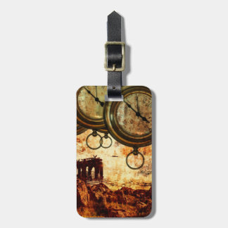 time stands still - travel luggage tag