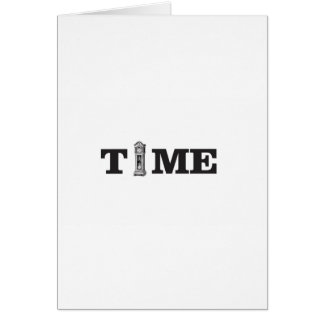 time tells card