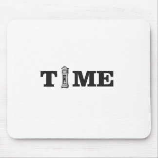 time tells mouse pad