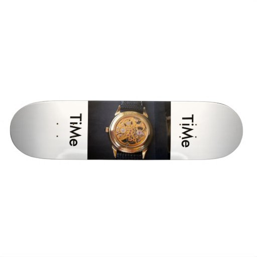 TiMe, TiMe Skateboard Deck