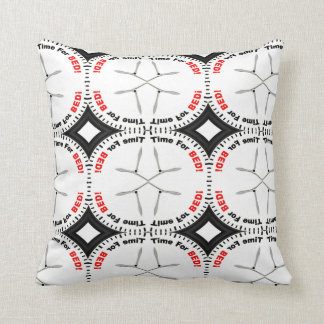 TIME TO BED THROW PILLOW