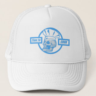 Time to Cook - Lite Blue Trucker Hat