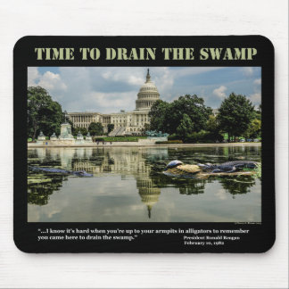 Time to Drain the Swamp Mousepad