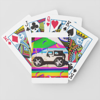 Time to Drive Bicycle Playing Cards