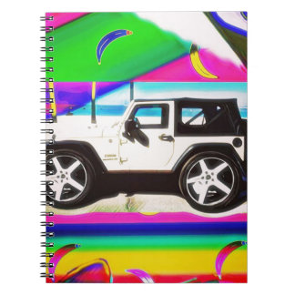Time to Drive Spiral Notebook
