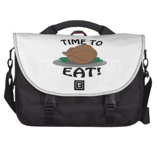 Time to Eat Commuter Bags