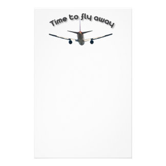 Time to fly away stationery