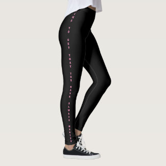 Time to get that you cuts always wanted leggings