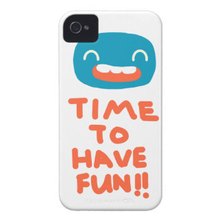 Time to have fun! iPhone 4 cover