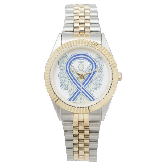 Time to Hope ALS Awareness Ribbon Angel Watches
