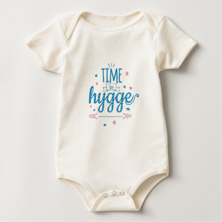 time to hygge baby bodysuit