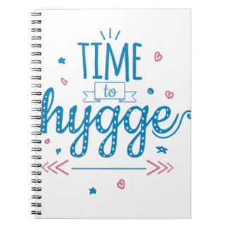 time to hygge notebook