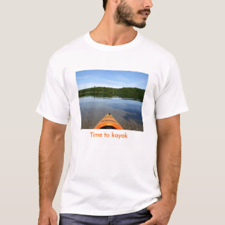 Time to kayak T shirt