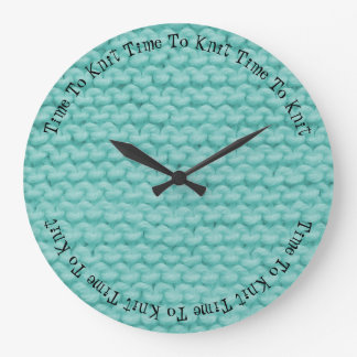Time To Knit Clock
