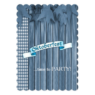 Time To Party! Oktoberfest Party Invitation