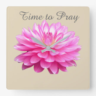 Time To Pray Wall Clock