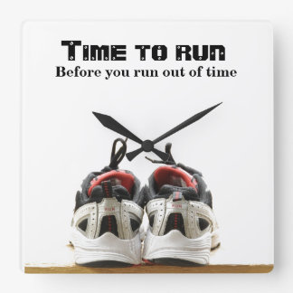 Time to run square wall clock