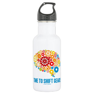 Time To Shift Gears (Gears Brain) 532 Ml Water Bottle