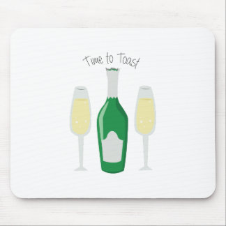 Time To Toast Mousepad