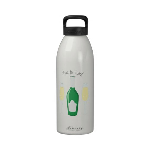 Time To Toast Water Bottle