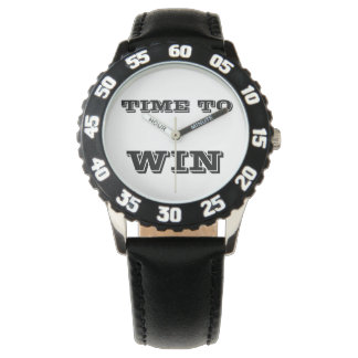 Time To Win  Motivational Watch - Champions Watch