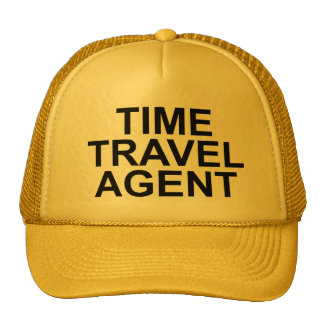 """""""Time Travel Agent"""" Hat"""