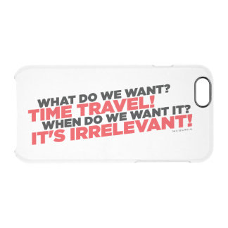 Time Travel Clear iPhone 6/6S Case