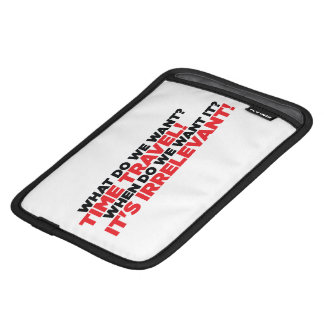 Time Travel iPad Mini Sleeve