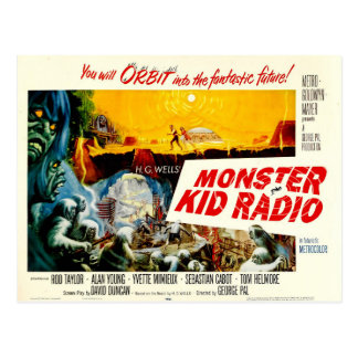 Time Travel Postcard from Monster Kid Radio
