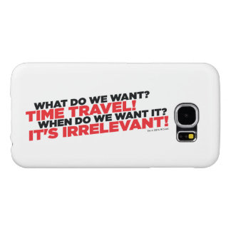 Time Travel Samsung Galaxy S6 Cases