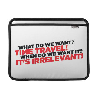 Time Travel Sleeve For MacBook Air