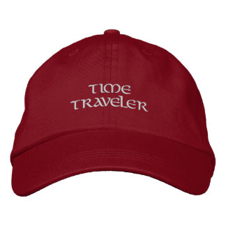 Time Traveler Embroidered Hats
