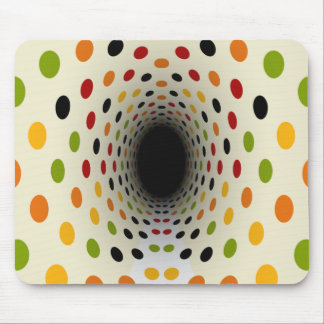 Time Tunnel to the Sixties Retro Mousepad