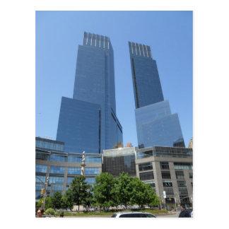 Time Warner Centre Columbus Circle New York City Postcard