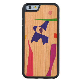 Time Will Tell Carved Cherry iPhone 6 Bumper Case
