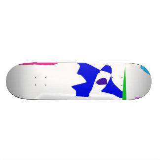Time Will Tell Custom Skate Board