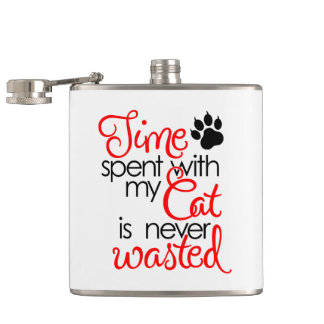 TIme With Cat Flask