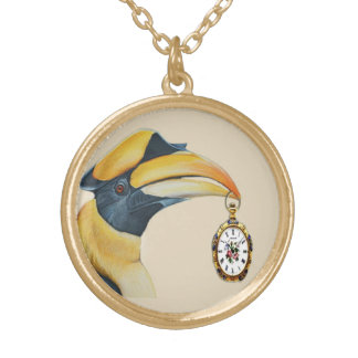Timekeeper Gold Plated Necklace