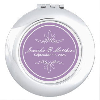 Timeless Charm Compact Mirror - Orchid